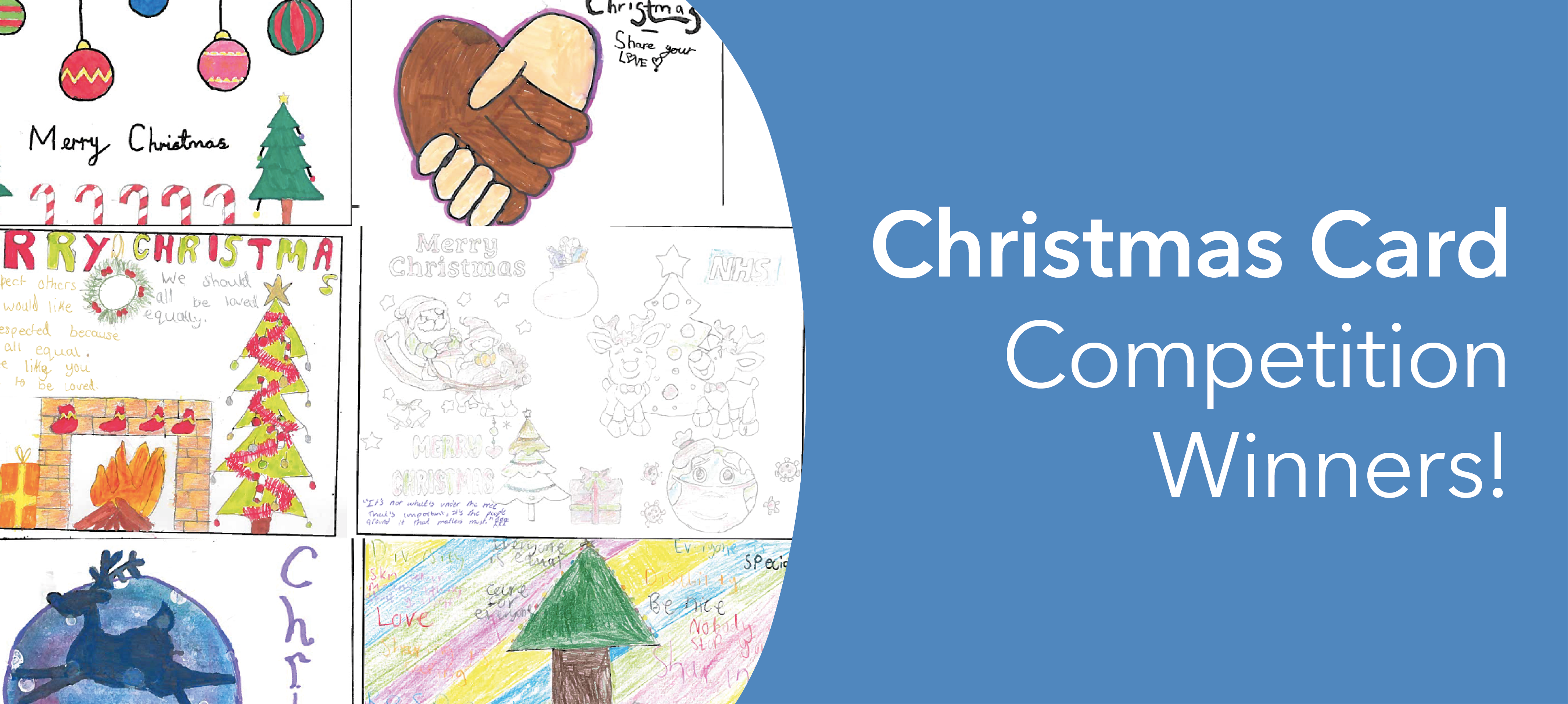 Our Christmas Card competition winners!